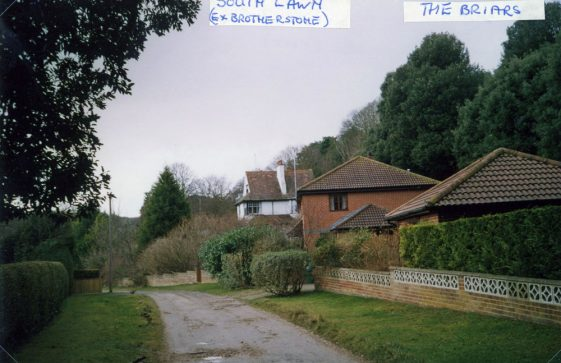 The Briars and South Lawn, Foreland Road. 15 February 2005