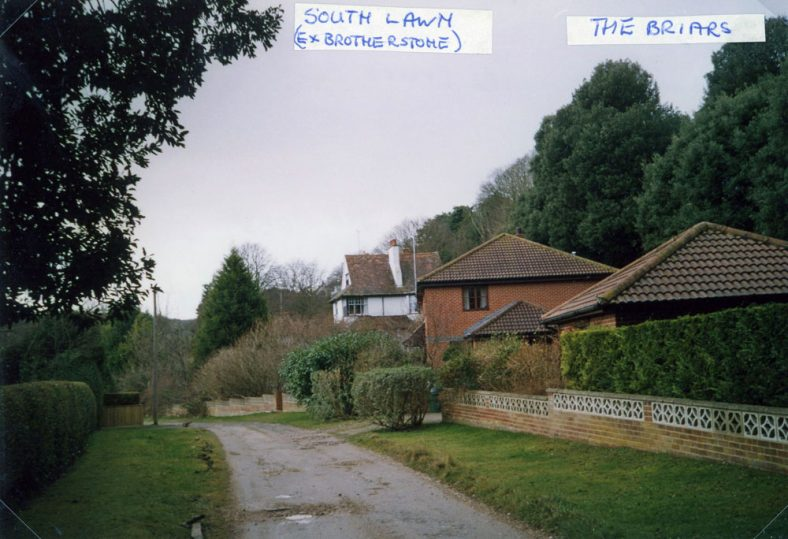 'The Briars' and 'South Lawn' in Foreland Road 15 February 2005