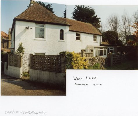 'Cherry Tree Cottage', Well Lane, 2002