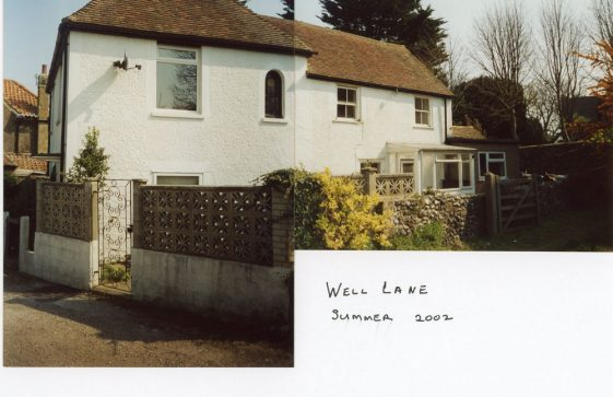 Cherry Tree Cottage, Well Lane, 2002