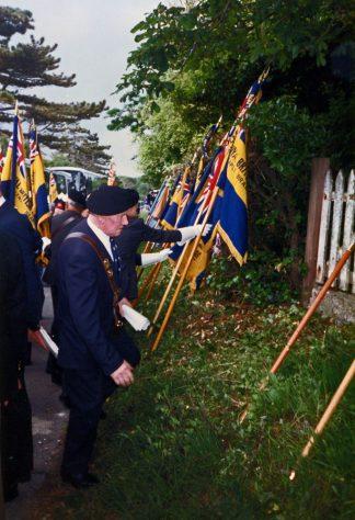 69th Dover Patrol Memorial Service. 1990