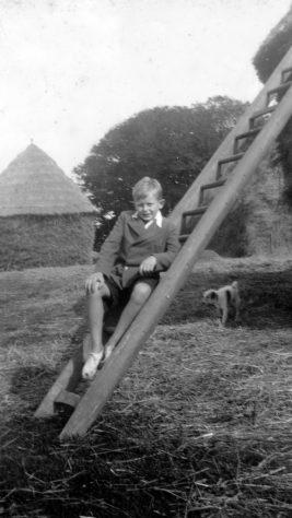 Young boys at Bockhill Farm. c.1920-30