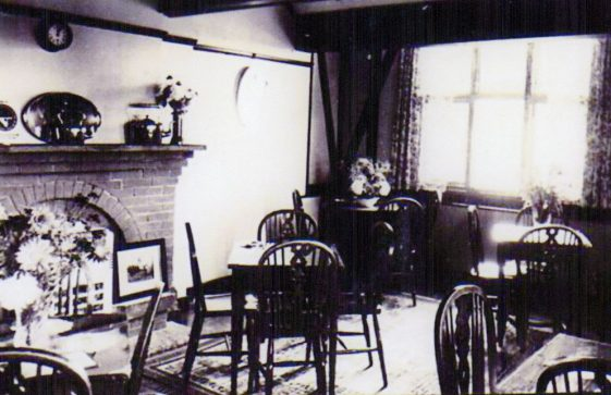 Corner House Tea Gardens, Bay Hill, dining area. c1930