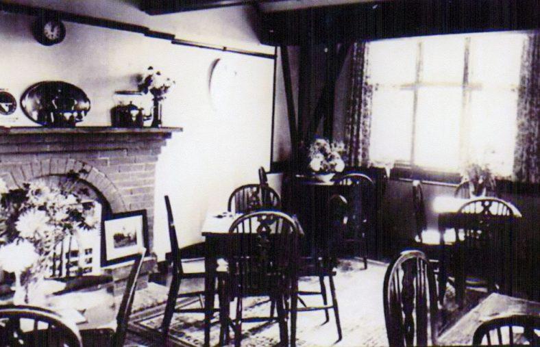 Corner House Tea Gardens, Bay Hill, dining area. c1930