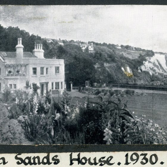 People associated with South Sands House and views of the house