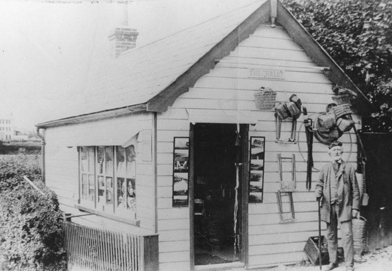 Henry Sproston, proprietor of The Chalet, Sea Street, late 19th Century
