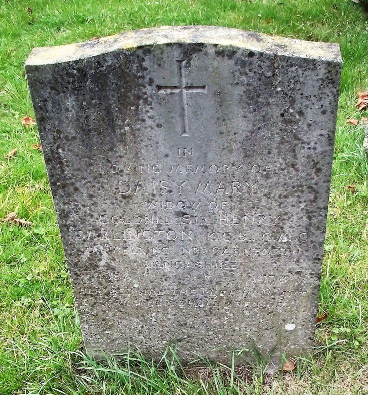 Gravestone of DARLINGTON Daisy Mary 1978   Dawn Sedgwick
