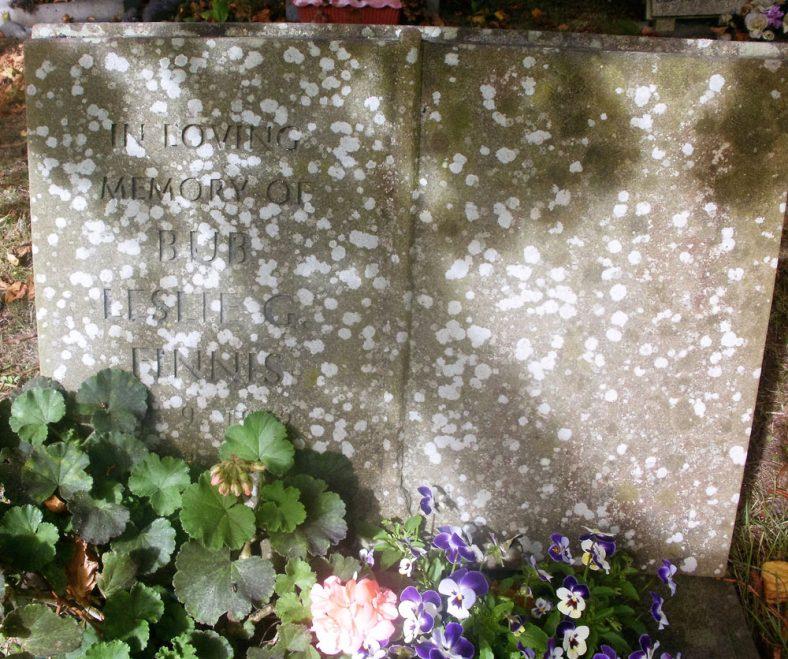 Gravestone of FINNIS Leslie G 1984 | Dawn Sedgwick
