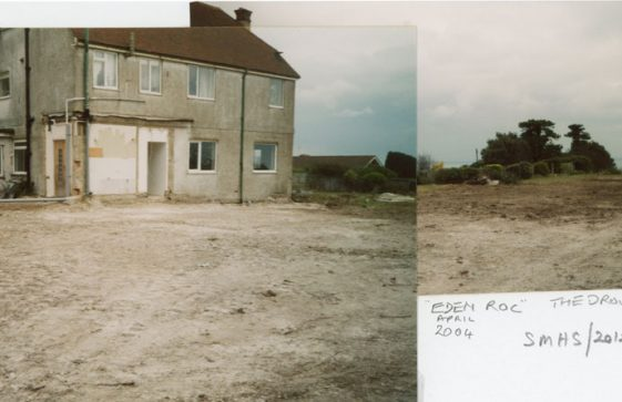 Series of photographs taken at the archaeological excavations at 'Eden Roc', The Droveway, June 2004