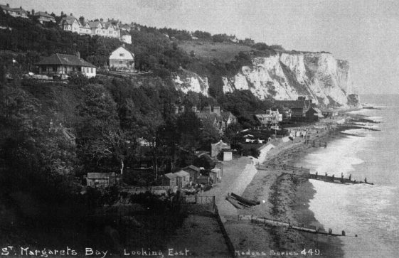 St Margaret's Bay from Ness Point. After 1924