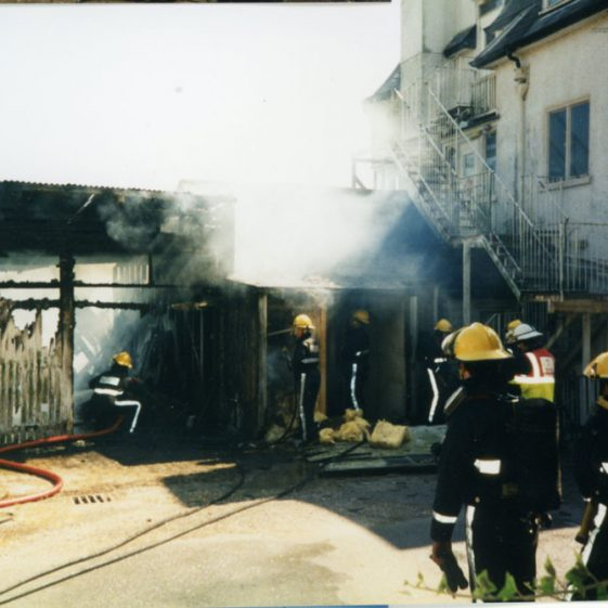 Another fire at The Granville Hotel. 21 August 1995