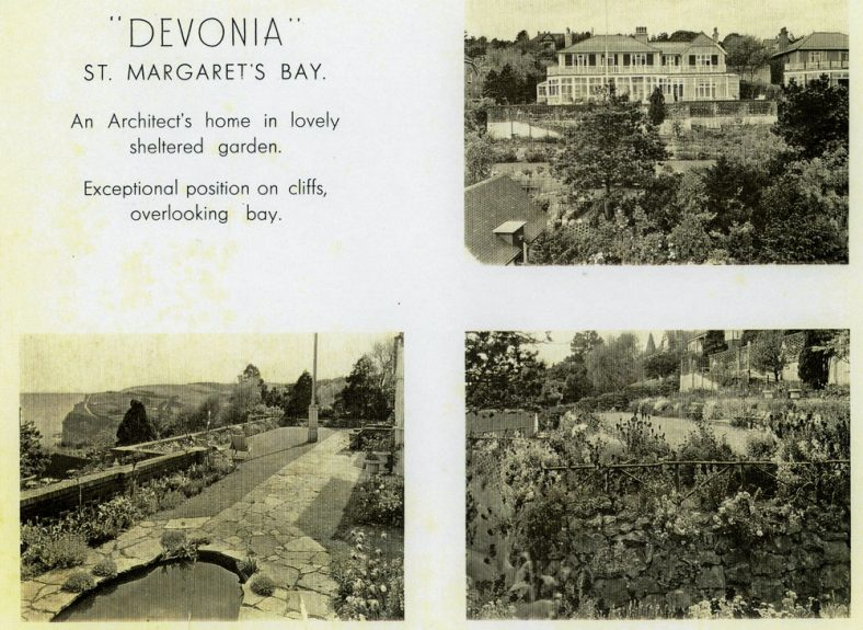 The house 'Devonia', Hotel Road.
