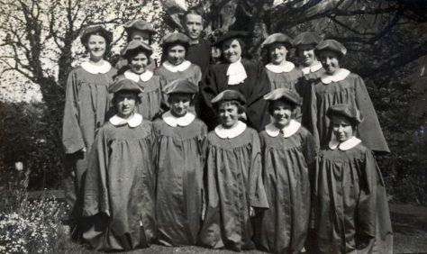 St Peter's Church Choir. 1939