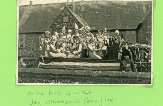 Decorated floats for the George V Jubilee 1935