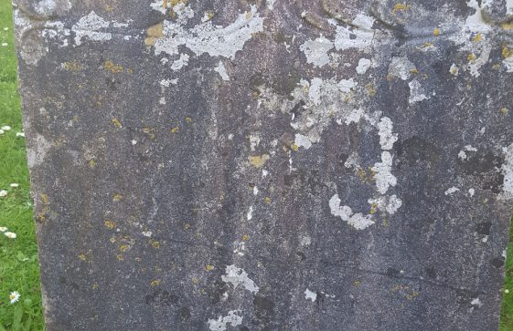 Gravestone of SHARPE George 1748
