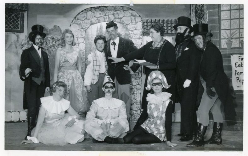 Cast of St Margaret's Players pantomime 'Pinocchio'
