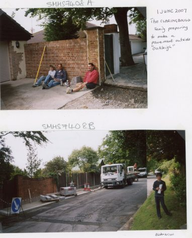 Oakleigh, Granville Road and the Claringboulds. c2010