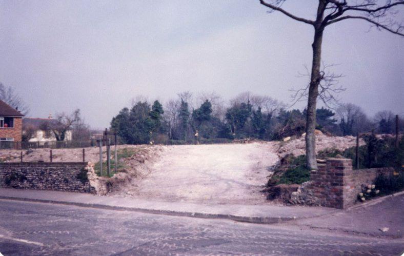 Millfield site, Station Road. 1984