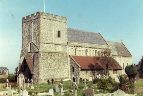 St Margaret's Church from the south west. mid 20th century