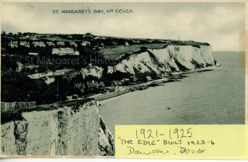 St Margaret's Bay from Ness Point. 1920's