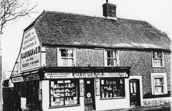 High Street, Gough's Post Office.  Early 20th century?