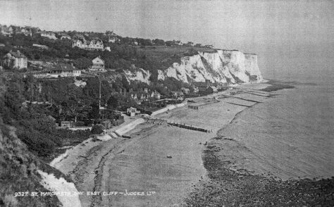 St Margaret's Bay from Ness Point. pre 1939