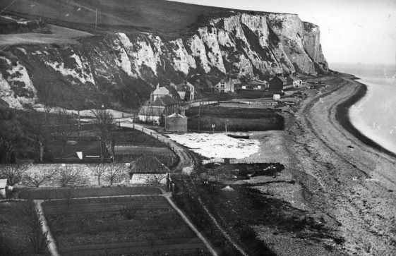 St Margaret's Bay from Ness Point. late 1800s