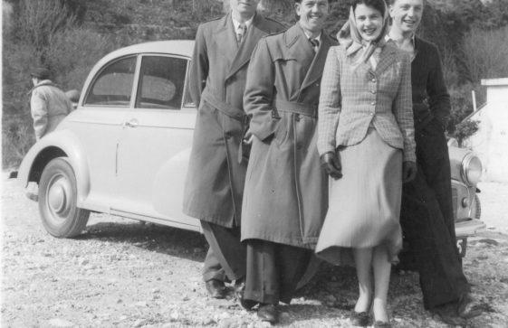 RAF St Margaret's personnel. 1952/3