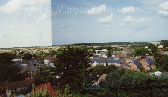 From St Margaret's church tower looking north-north-west. 23 August 2005