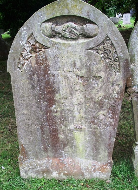 Gravestone of GOLDSACK Julia 1918; GOLDSACK Stanley 1918; GOLDSACK Thomas Samuel 1937 | Dawn Sedgwick