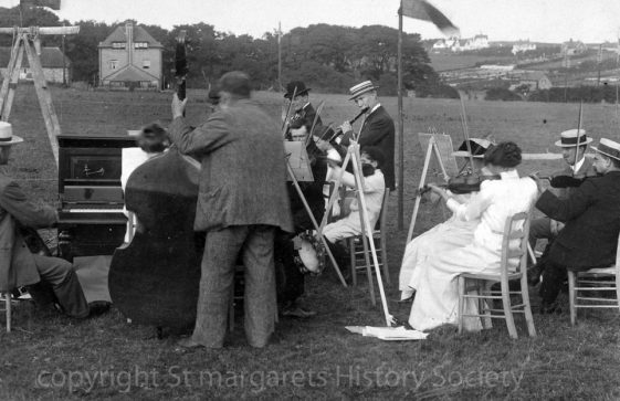 Village Orchestra at 16th Annual St Margaret's Sports Day. 1911
