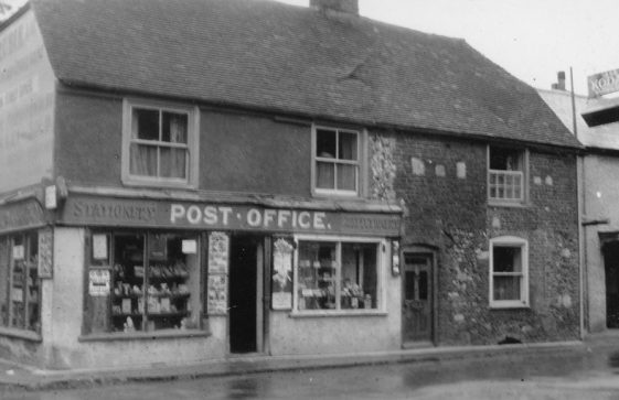 High Street, The Post Office. Undated.