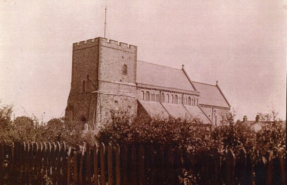 St Margaret's Church from the south west. c1901