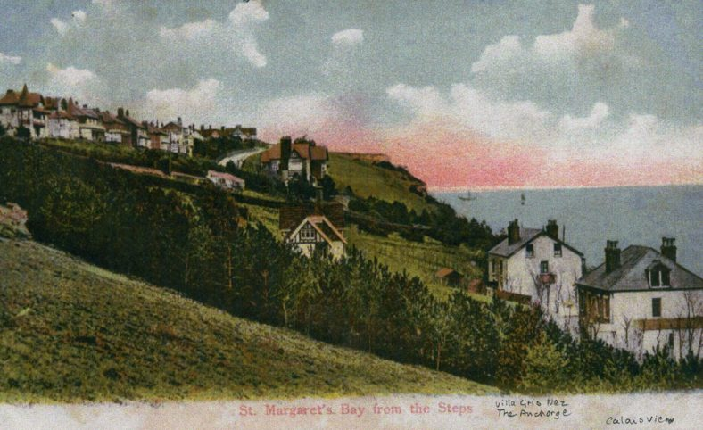 Long Steps down to The Bay. dated 1909