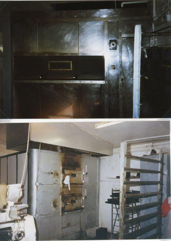 Interior of Watson's Bakery, Kingsdown Road. March 1995