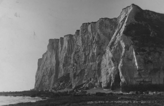 Ness Point from the beach. 1926