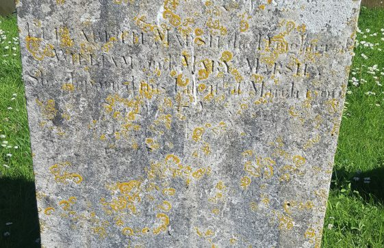 Gravestone of MARSH Elizabeth 1796