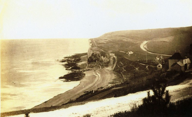 St Margaret's Bay looking south. c1900