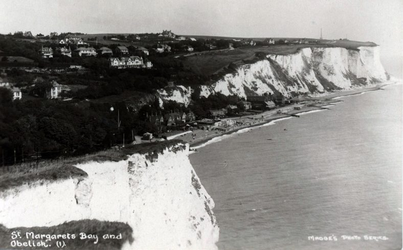 St Margaret's Bay from Ness Point. c1925