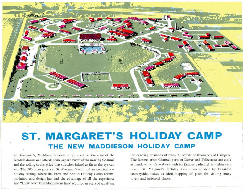 Advertisement for Maddieson's Holiday Camp. c1950