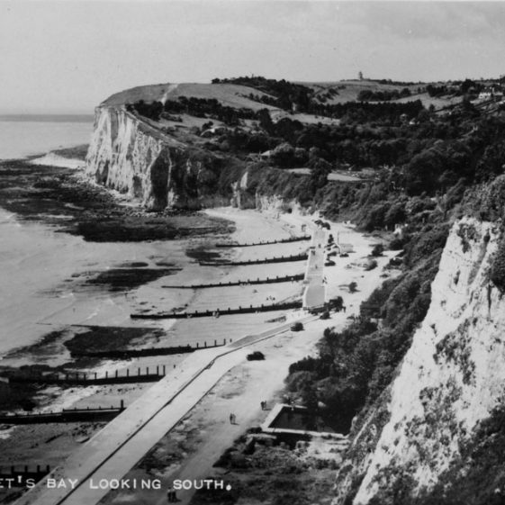 St Margaret's Bay from The Leas. 1921 to mid-1950s