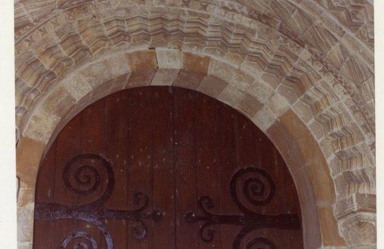 North doorway of St Margaret's Church. 1986