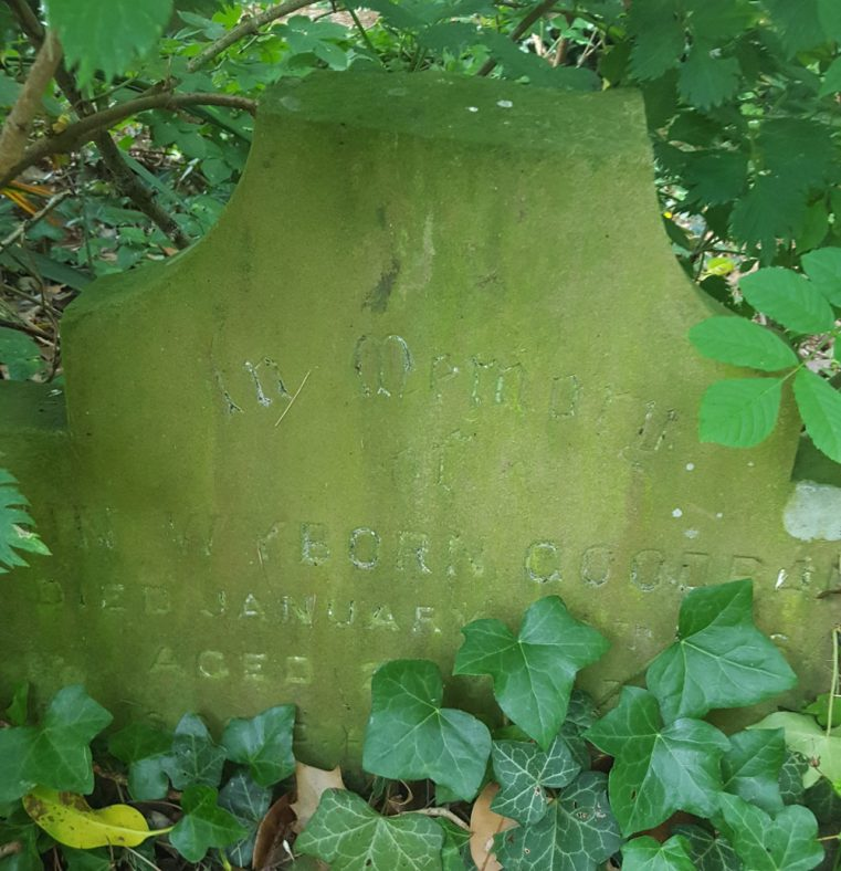 Gravestone of GOODBARN John Wyborn 1913 | Dawn Sedgwick