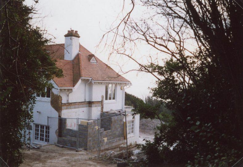 'The Gatehouse' extension, Salisbury Road. 31 December 2008