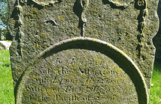 Gravestone of WOOLLETT Richard 1776
