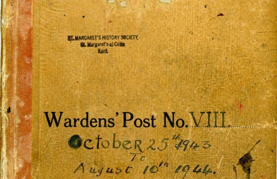 St Margaret's ARP (Air Raid Precautions) Log. Volume 8. 25 October 1943 - 10 August 1944. Pages 1-10