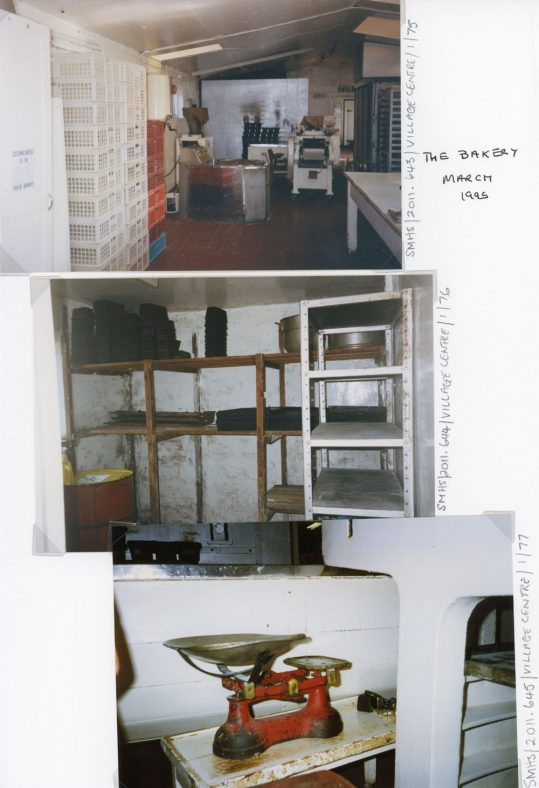 Interior of Watson's Bakery.  March 1995.