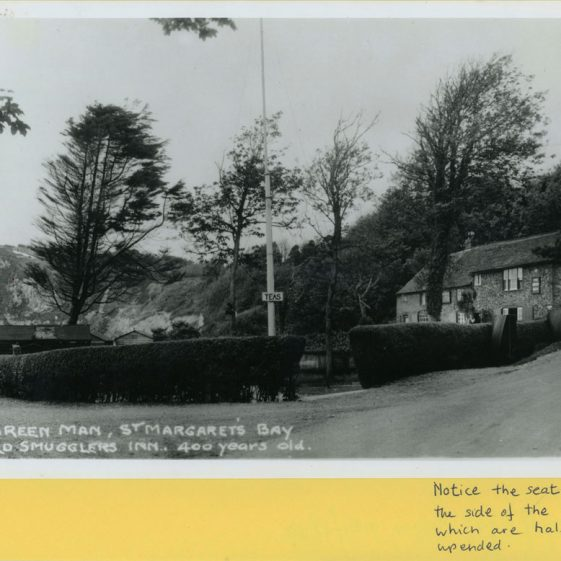 The Green Man at the bottom of Bay Hill, St Margaret's Bay. 1930s