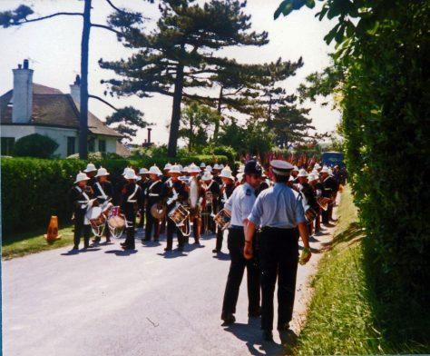 67th Dover Patrol Memorial Service. 1988