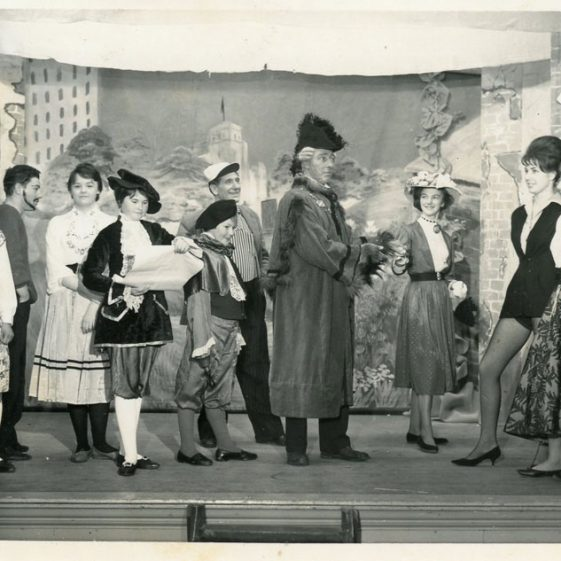 Scenes from St Margaret's Players Pantomime 'Jack and the Beanstalk'. Undated